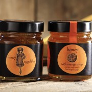 Honey with Orange scraps